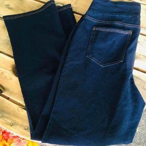 Size 12 Womans Dark Blue Jean's